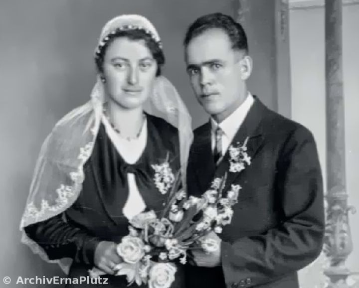 Photo du mariage du Bx Franz Jaggerstatter.